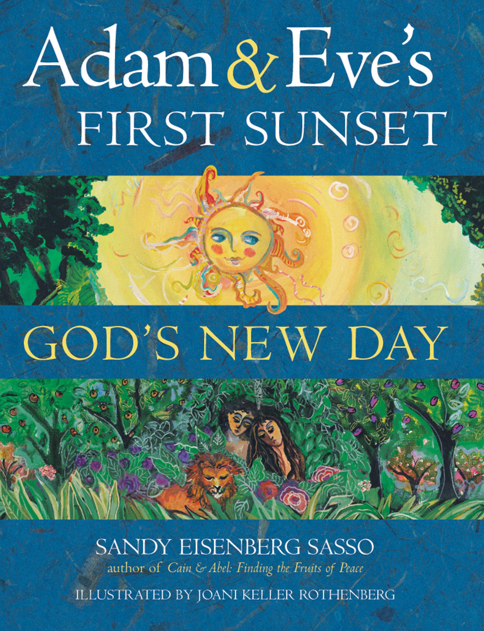 adam & eve's first sunset (ebook)-sandy eisenberg sasso-9781580237109