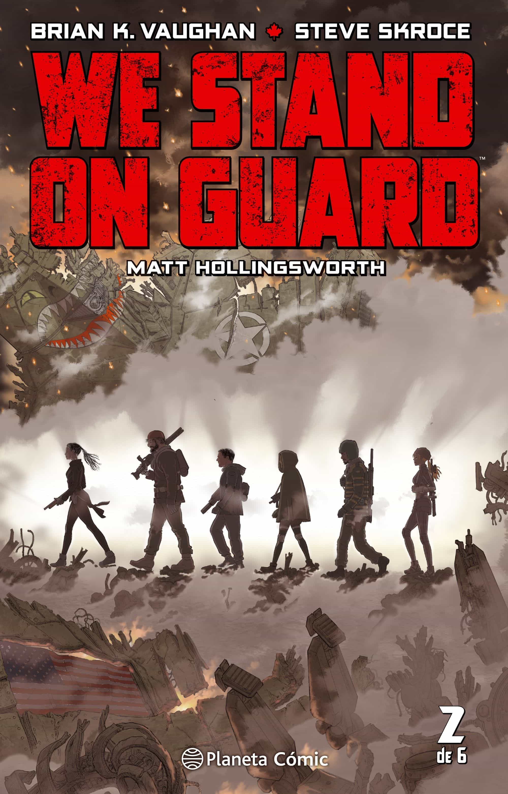 We Stand On Guard Nº 02/06 por Brian K. Vaughan epub