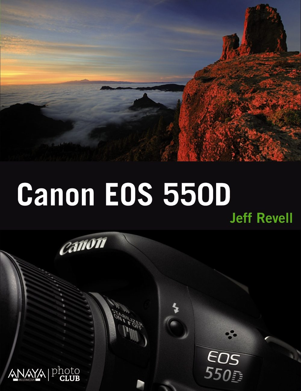 canon eos 550d-jeff revell-9788441529809