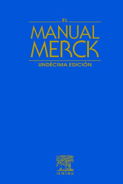 Nuevo manual merck de informacion medica genera comprar libros.