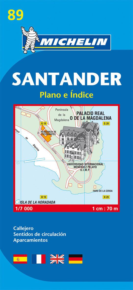 Plano Michelin Santander (ref.19089) por Vv.aa.