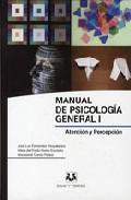 descargar MANUAL DE PSICOLOGIA GENERAL I: ATENCION Y PERCEPCION pdf, ebook