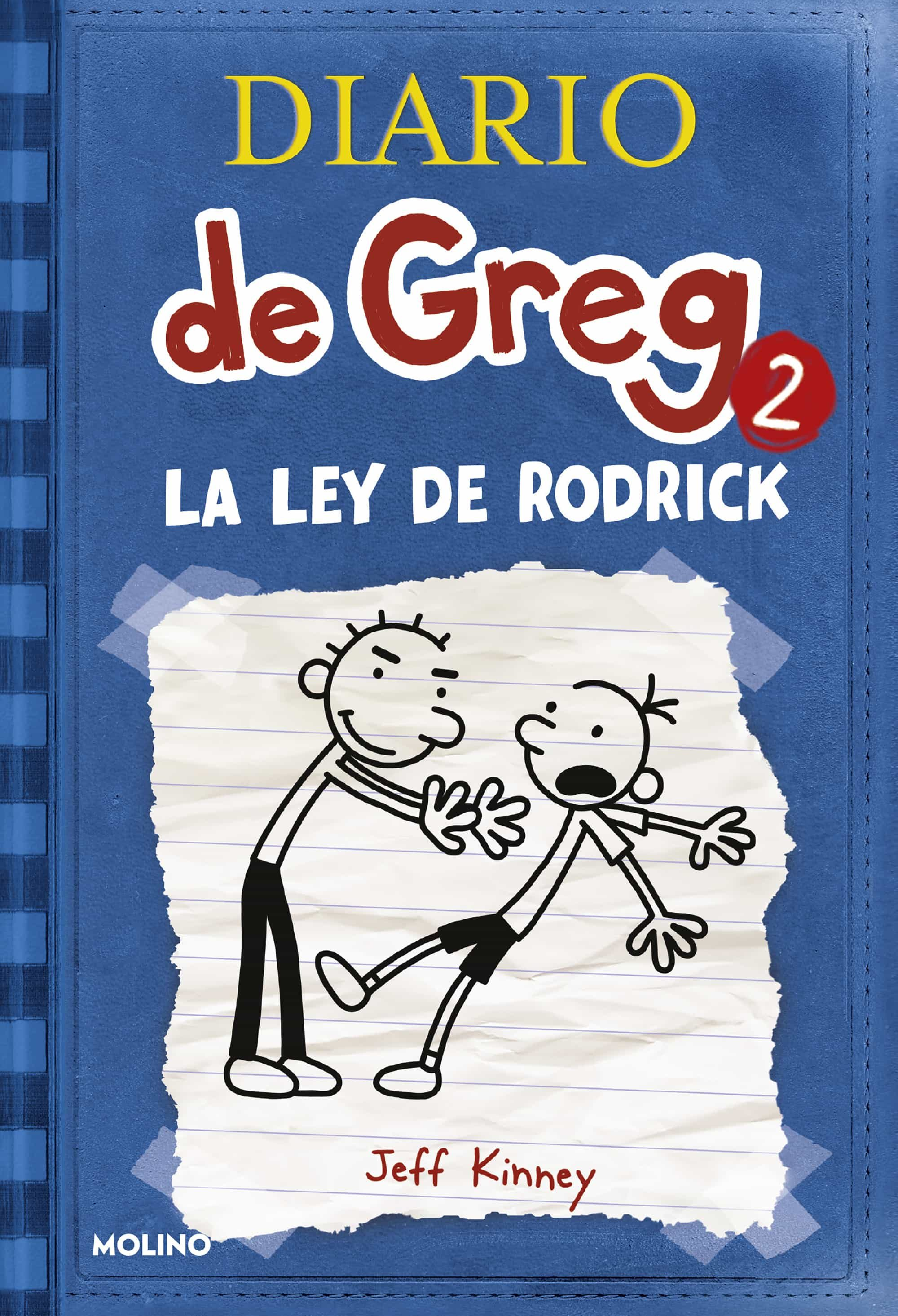 Diario De Greg 2 : La Ley De Rodrick por Jeff Kinney