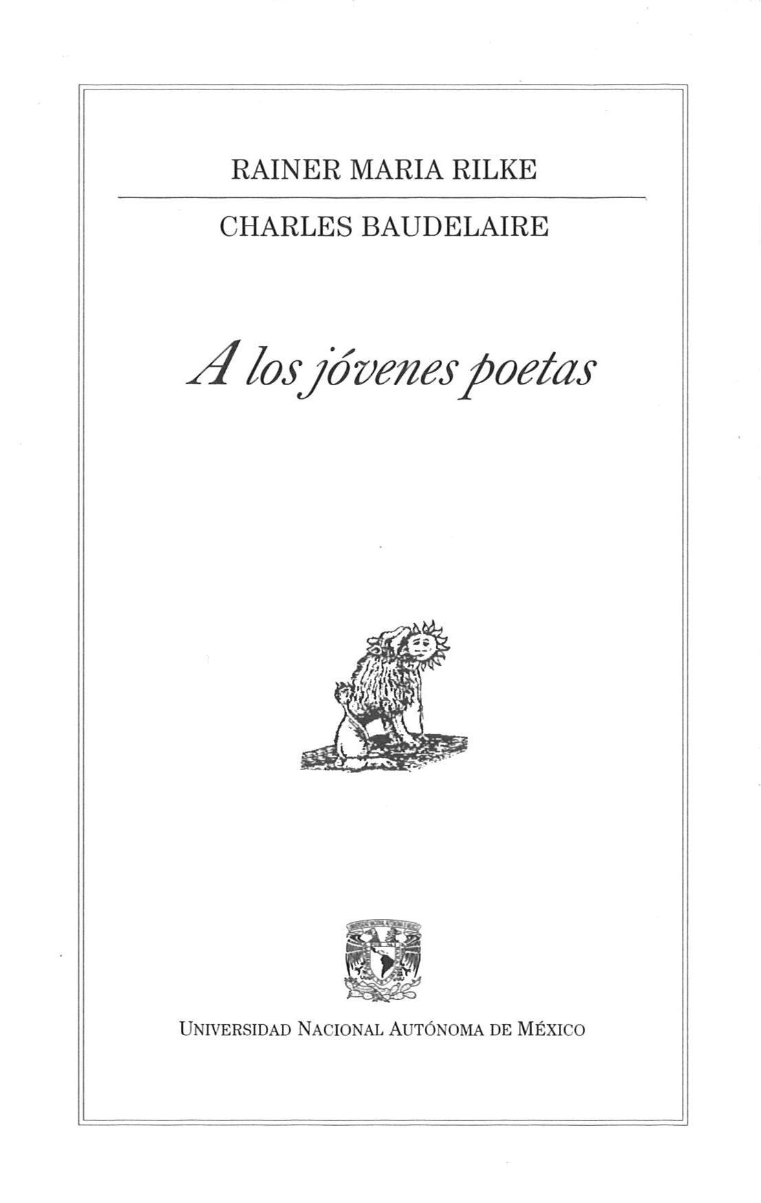 A Los Jovenes Poetas por Rainer Maria Rilke