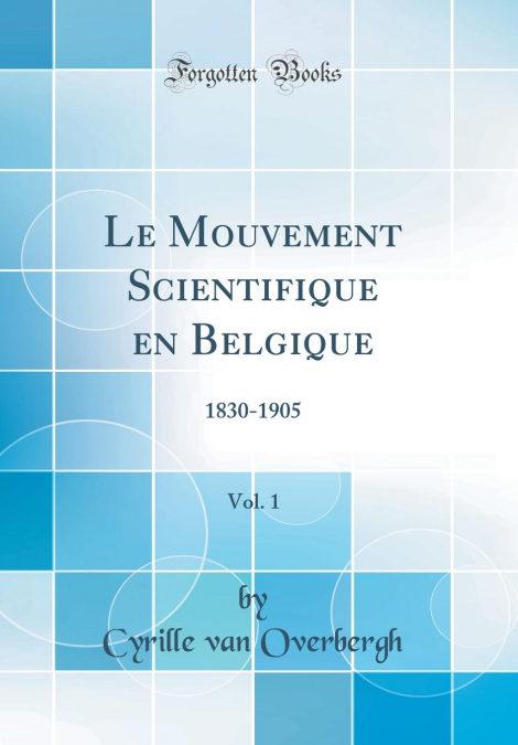 Le Mouvement Scientifique En Belgique, Vol. 1 Libros electrónicos gratuitos para descargar en iphone