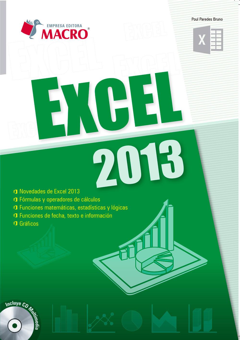 EXCEL 2013 EBOOK | POUL PAREDES BRUNO | Descargar libro PDF o EPUB ...
