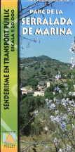 descargar PARC DE LA SERRALADA DE MARINA 1:20.000 (MAPA) pdf, ebook