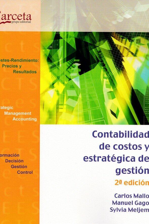 contabilidad de costos y estrategica de gestion-9788416228829