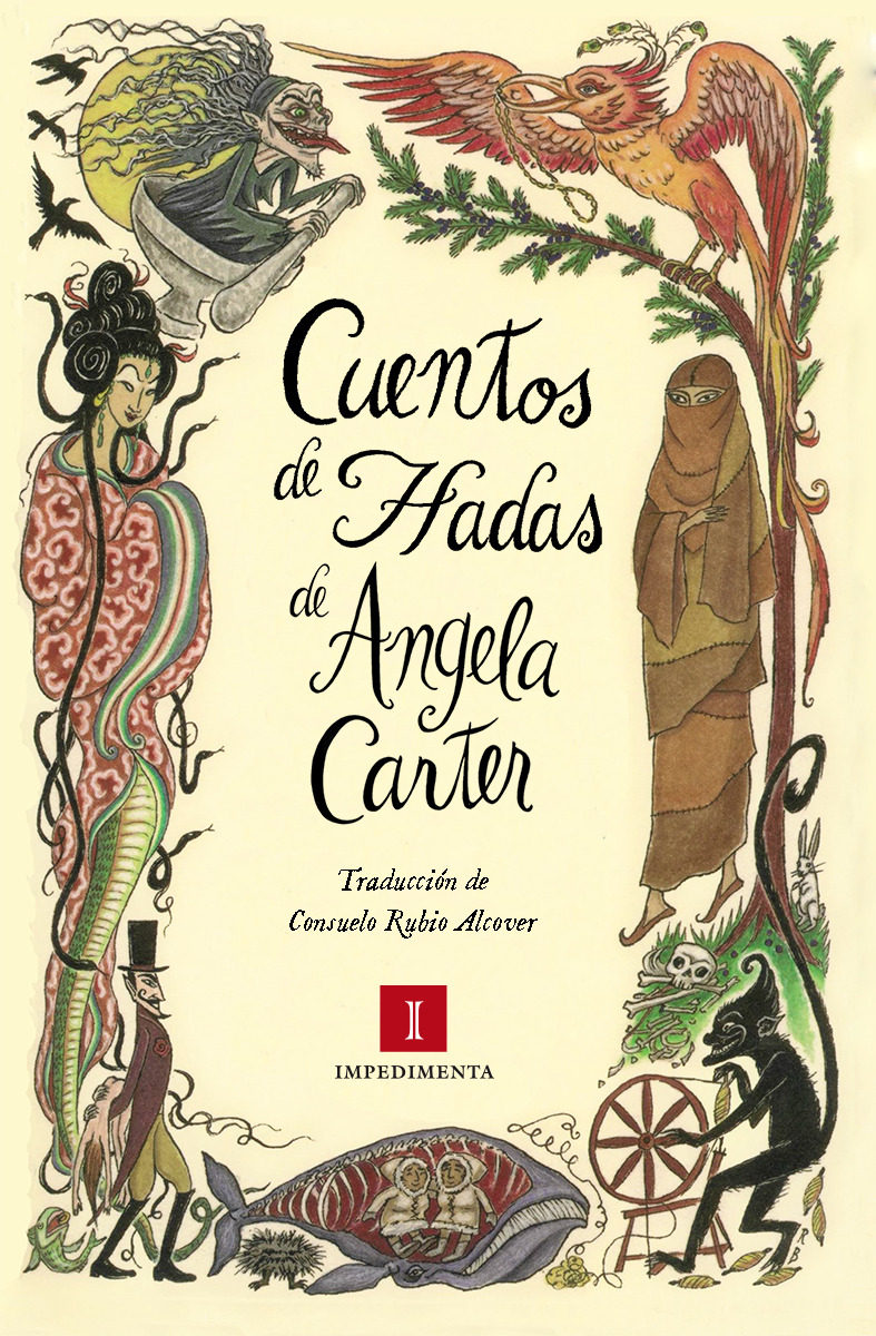 cuentos de hadas-angela carter-9788416542529