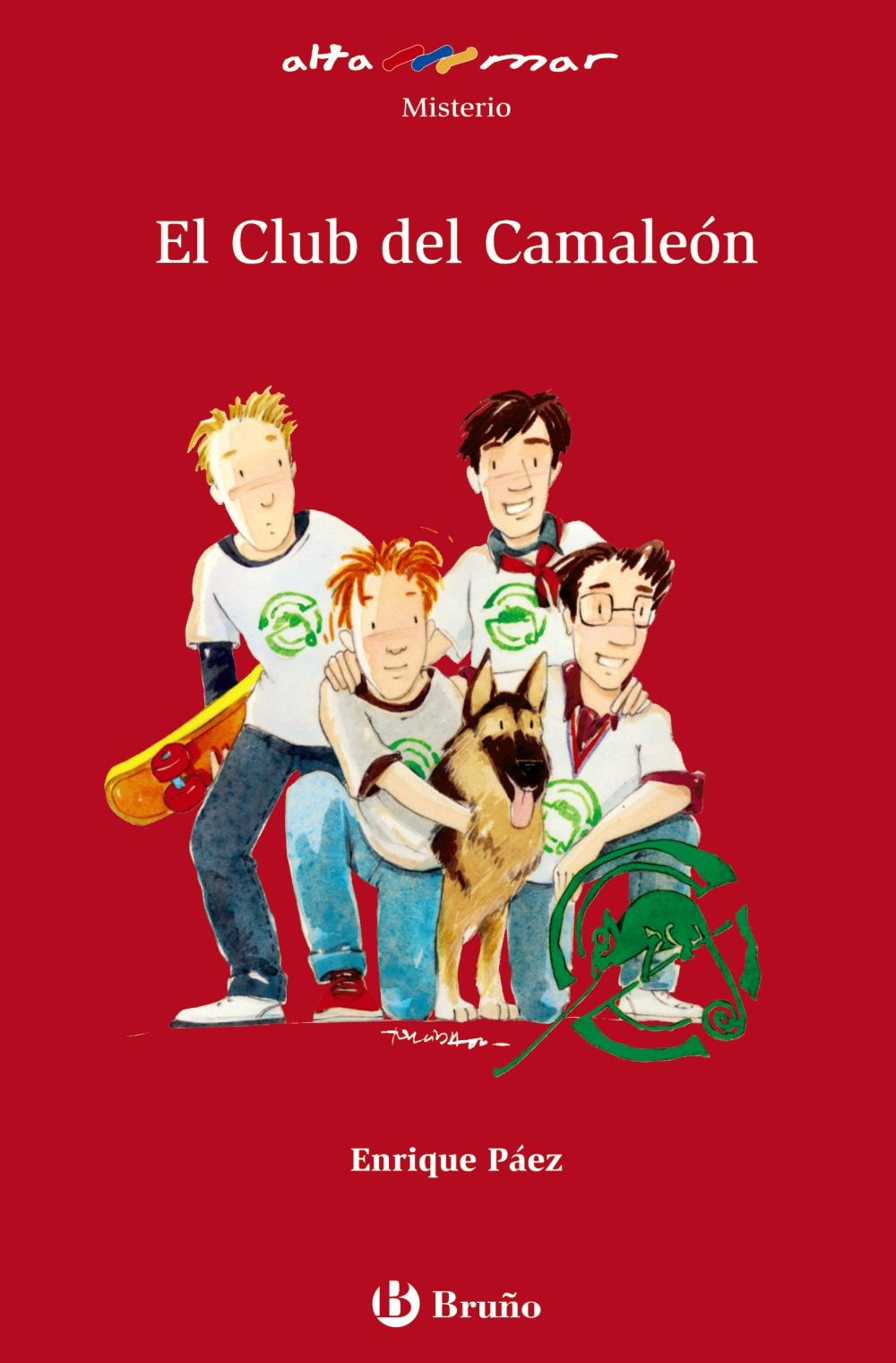 El Club Del Camaleon por Enrique Paez