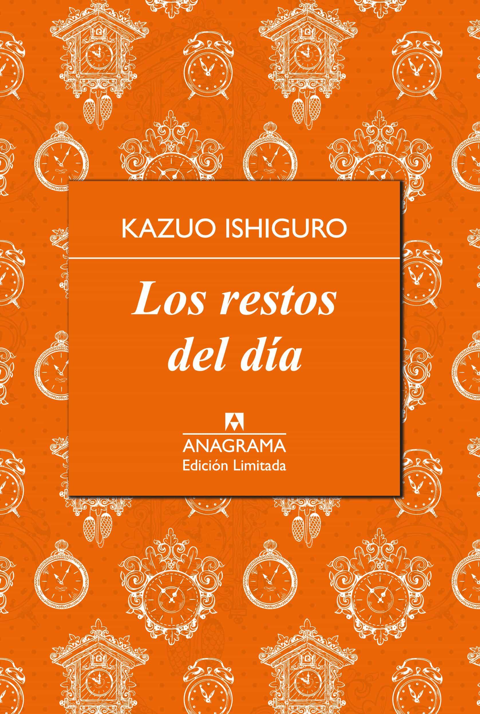 los restos del dia (limitada)-kazuo ishiguro-9788433928429