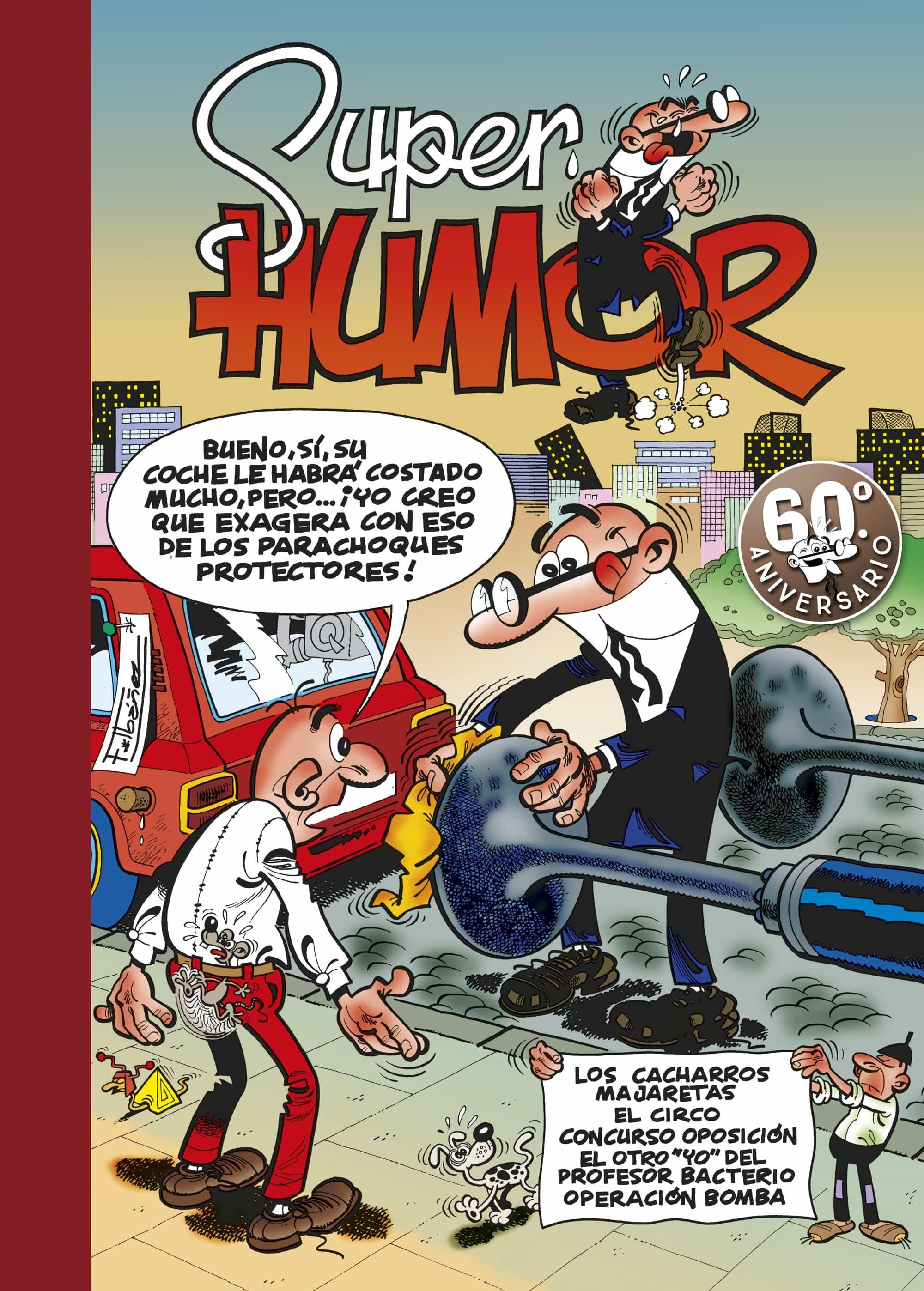 super humor mortadelo nº 16: varias historietas-f. ibañez-9788440647429