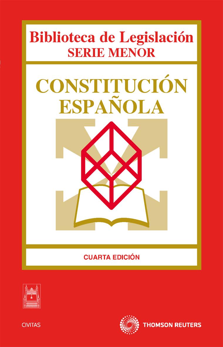 constitucion española  (4ª ed.)-ricardo alonso garcia-9788447036929