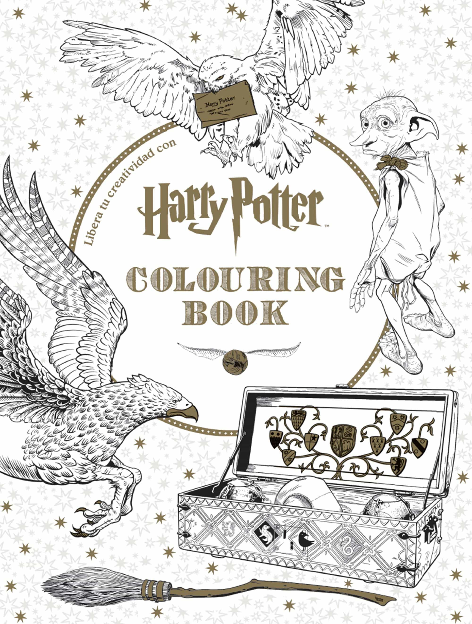 HARRY POTTER: COLOURING BOOK | VV.AA. | Comprar libro 9788448022129