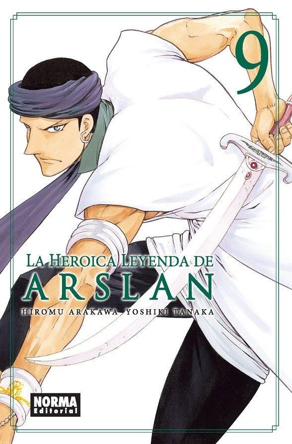 La Heroica Leyenda De Arslan 9 por Yoshiki Tanaka;                                                                                                                                                                                                                                   Hirom
