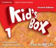 kid`s box 1 for spanish speakers class audio cds (2nd ed.)-9788483239629