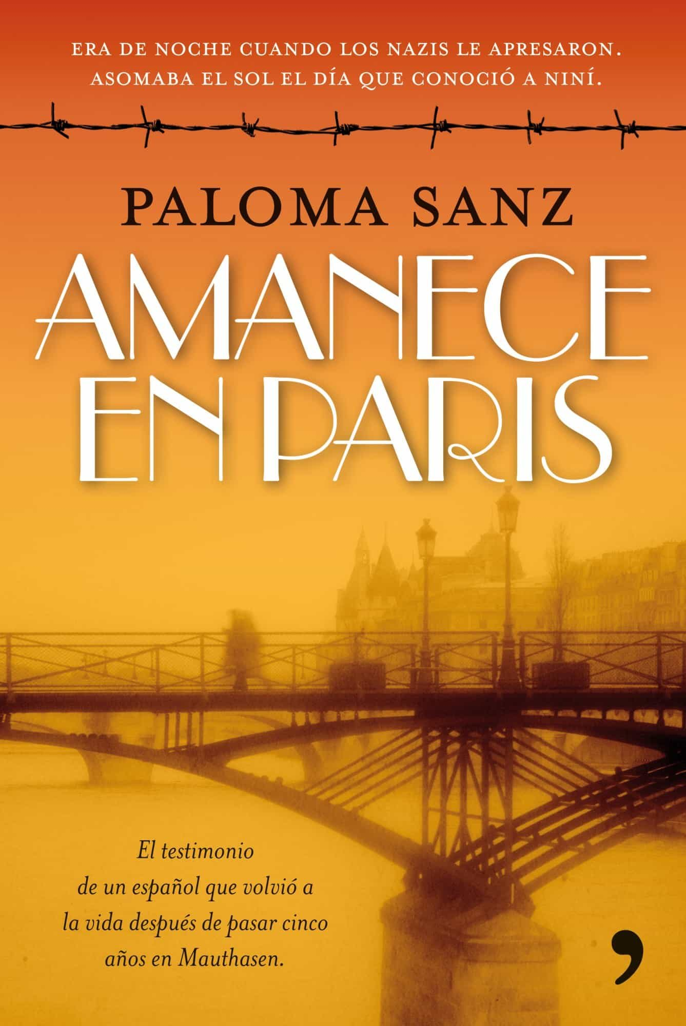Resultado de imagen de libro amanece en paris