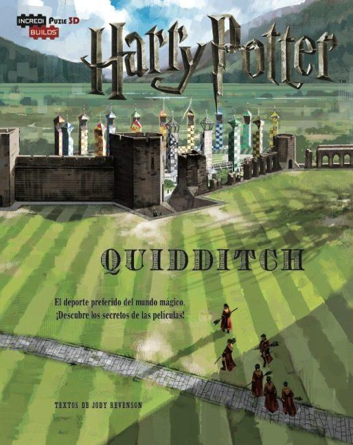 incredibuilds harry potter quidditch-9788893670029