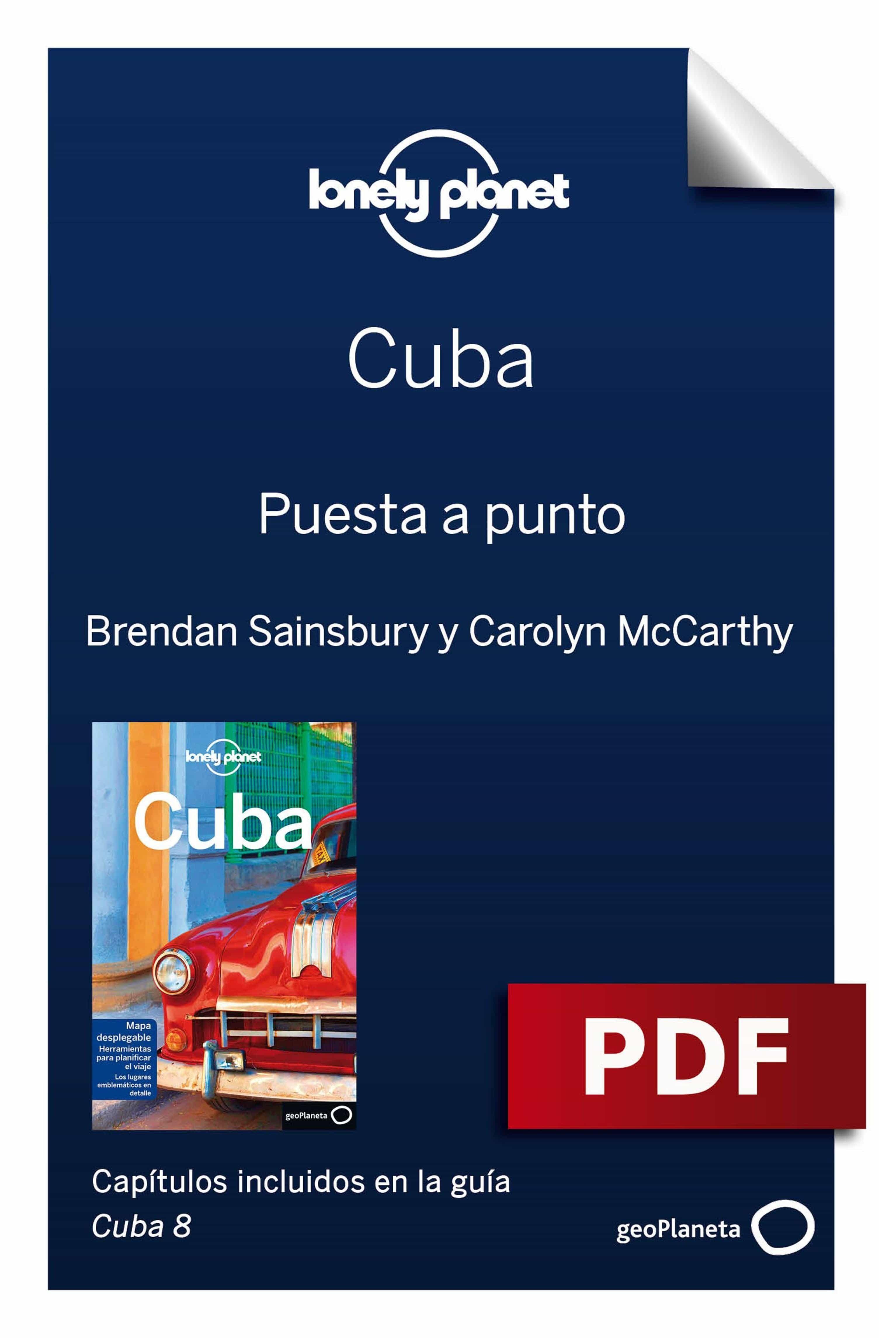 cuba 8_1. preparación del viaje (ebook)-brendan sainsury-carolyn mccarthy-9788408198239