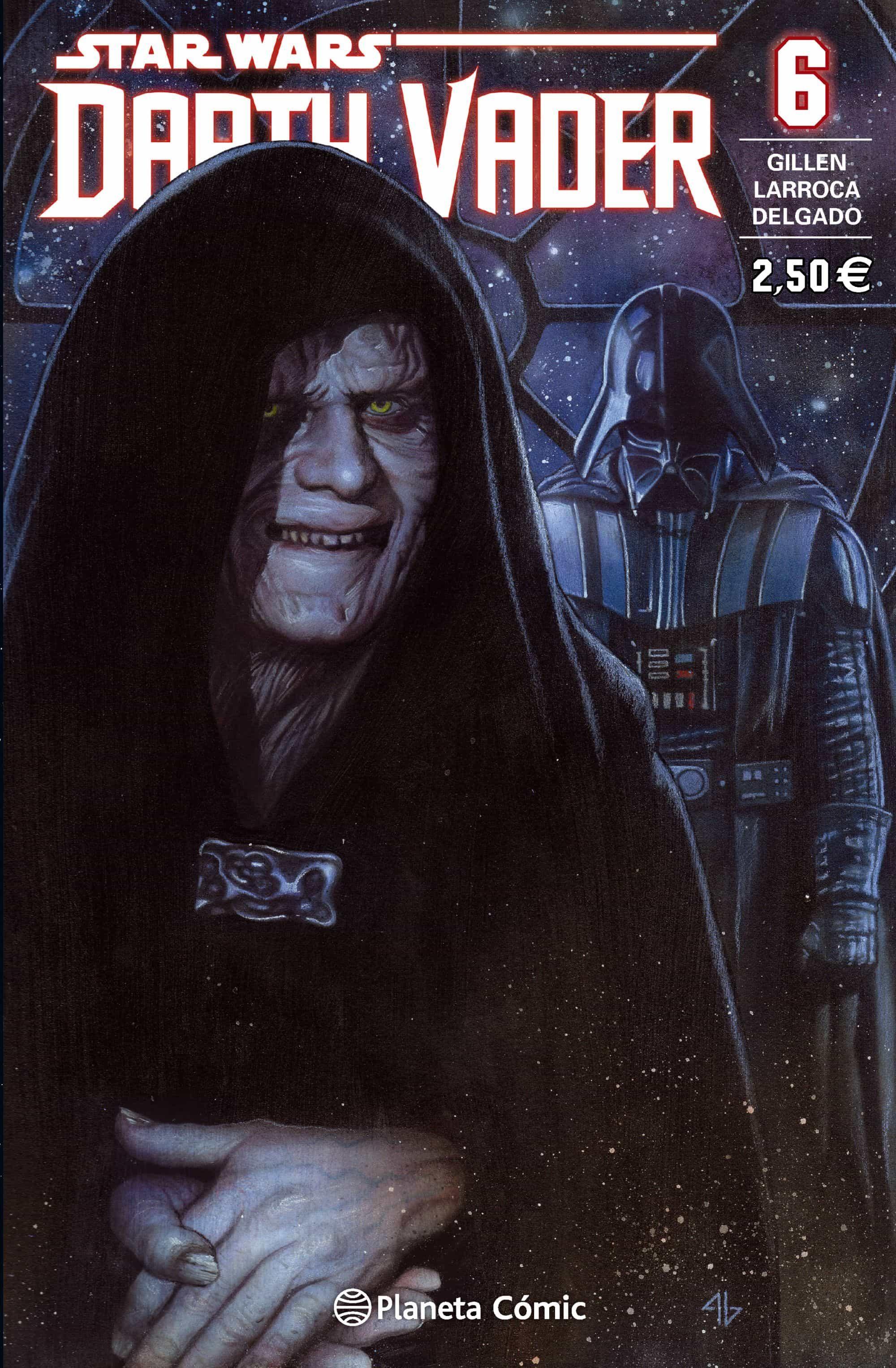 star wars darth vader 6-salvador larroca-kieron gillen-9788416308439