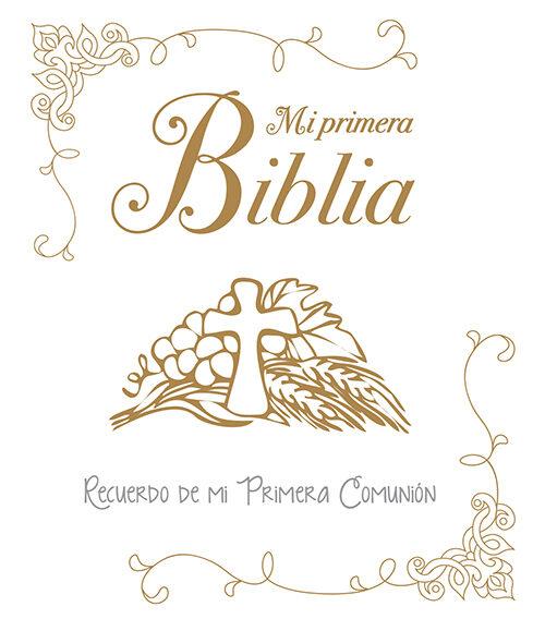 mi primera biblia recuerdo de mi primera comunion vv aa