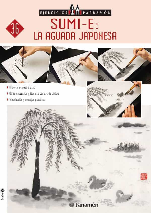 sumi-e: la aguada japonesa: 8 ejercicios paso a paso-9788434227439