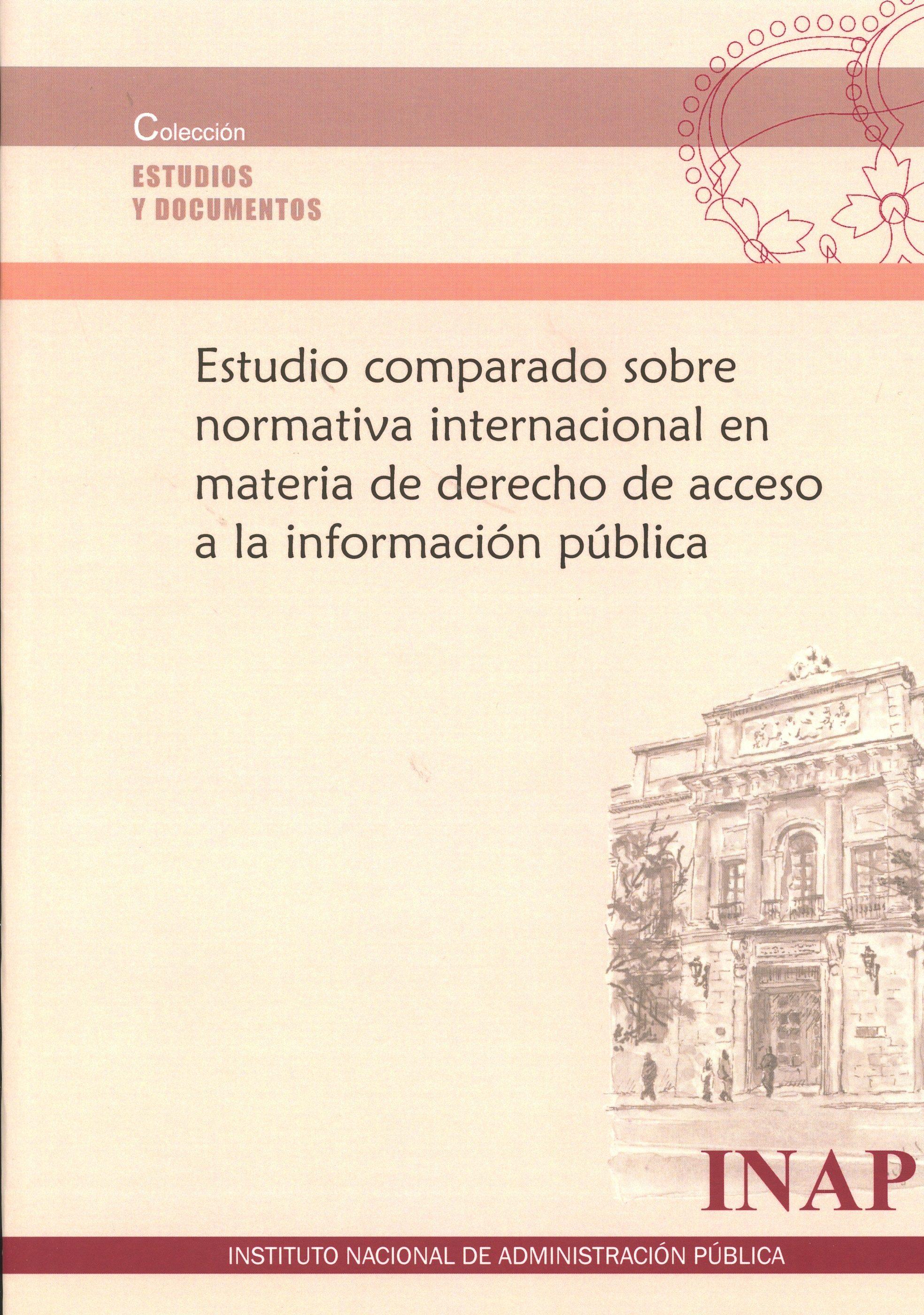 estudio comparado sobre normativa internacional en materia de derecho de acceso a la información pública-9788473515139