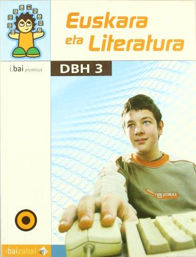 Euskara Eta Literatura Dbh 3 por Vv.aa.