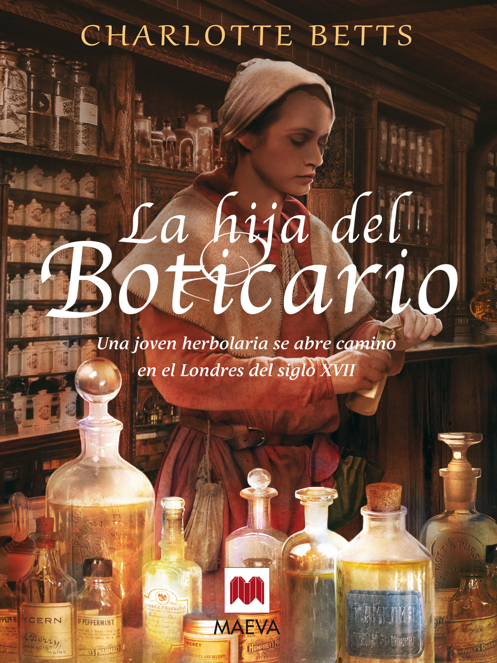 la hija del boticario (ebook)-charlotte betts-9788416363049