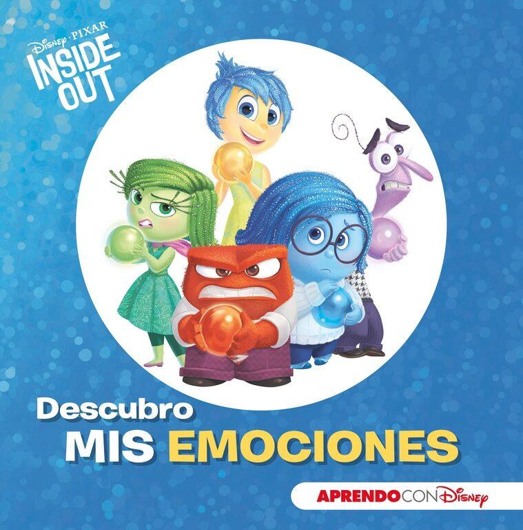 Inside Out. Descubro Mis Emociones Con Disney por Vv.aa.