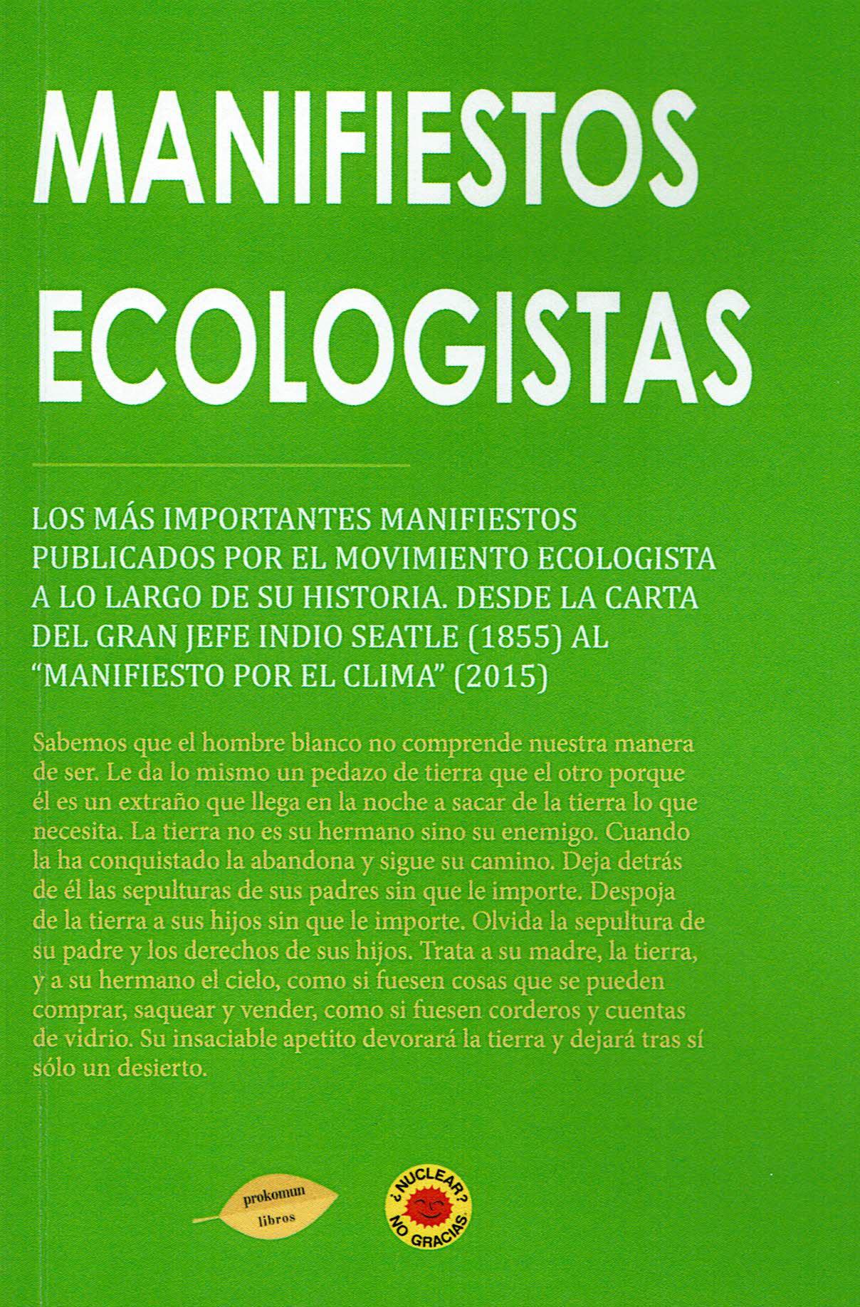 Manifiestos Ecologistas por Vv.aa.