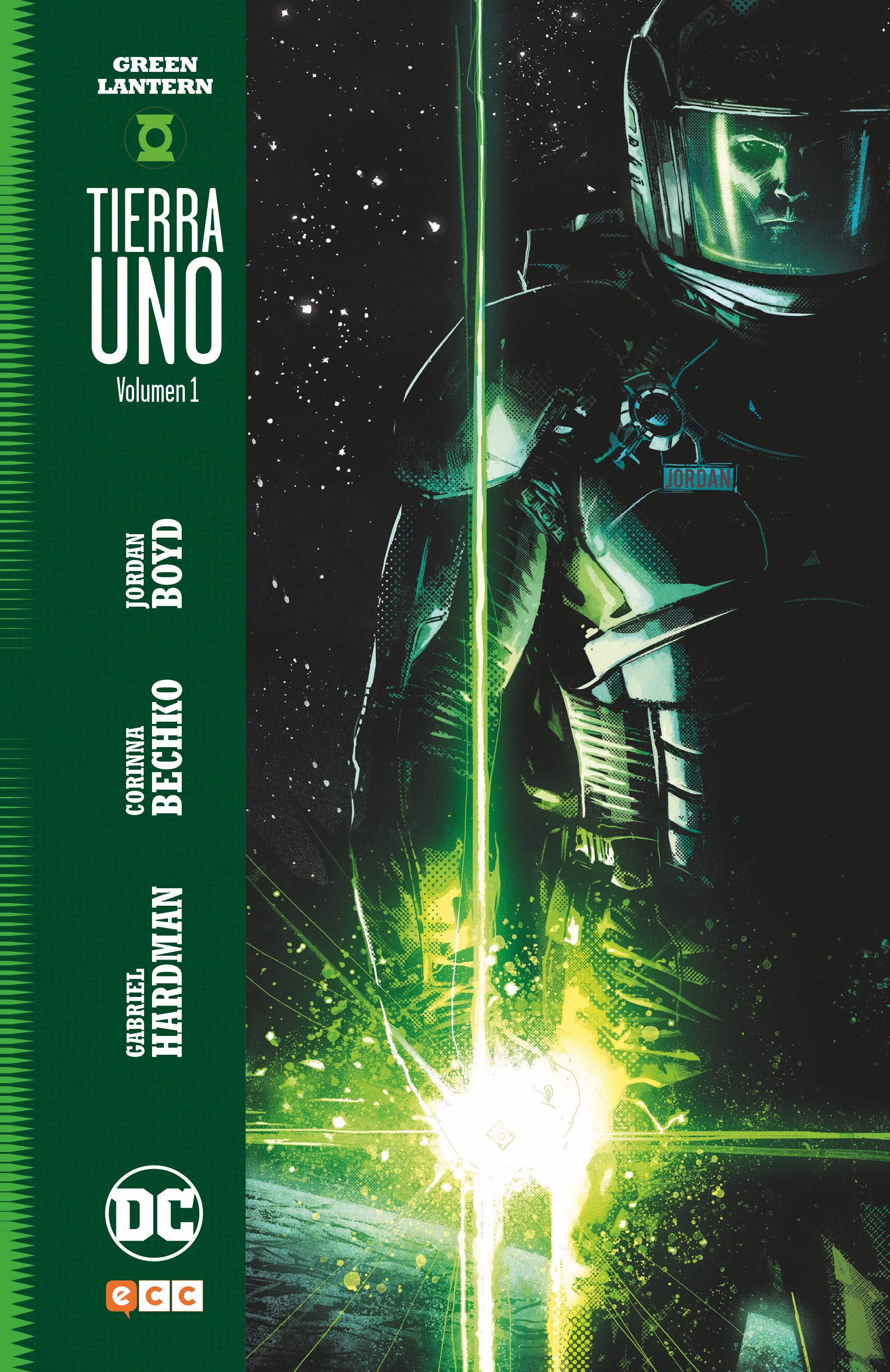 Green Lantern: Tierra Uno (vol. 01) (2ª Ed.) por Gabriel Hardman;                                                                                    Corinna Bechko