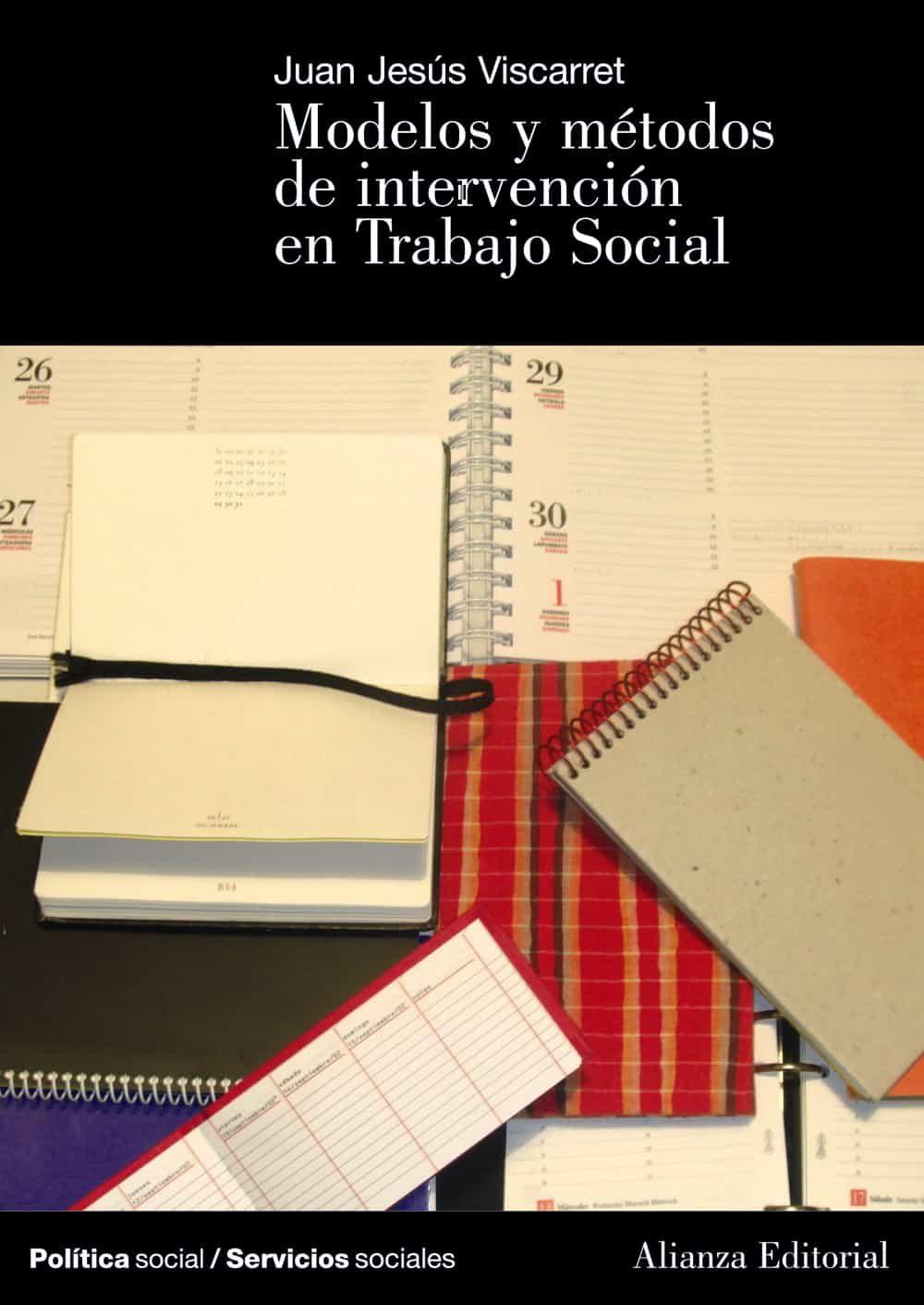 modelos de intervencion en trabajo social-jesus viscarret garro-9788420648149