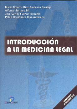 Introduccin A La Medicina Legal por Vv.aa.
