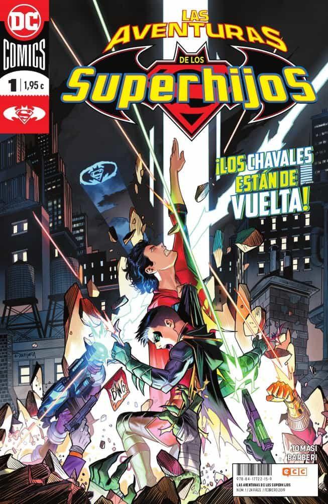 las aventuras de los superhijos nº 01-peter tomasi-9788417722159
