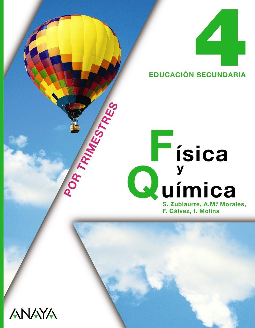 FISICA Y QUIMICA 4º ESO | VV.AA. | Comprar libro 9788467802559