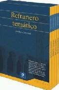 Refranero Tematico (4 Tomos) por Jose Luis Gonzalez epub