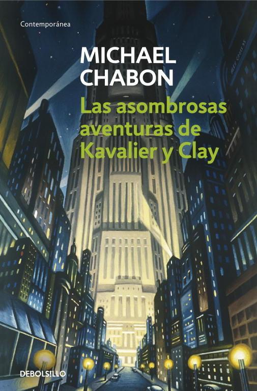 Resultado de imagen de Las asombrosas aventuras de Kavalier y Clay