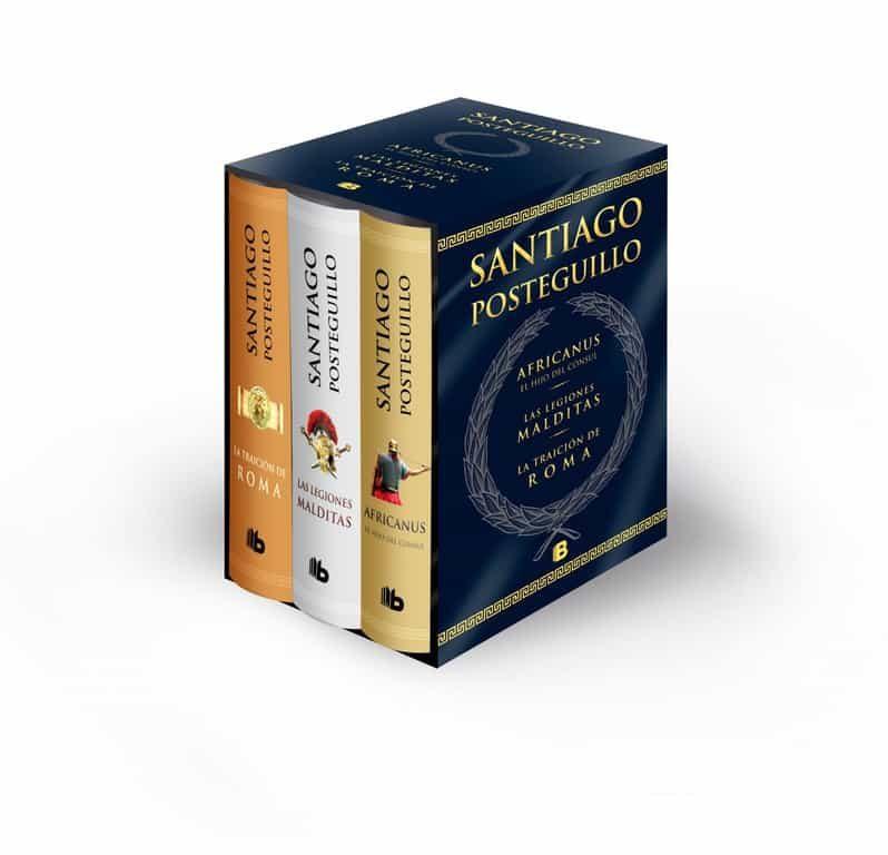 Pack Trilogia De Roma (contiene: Africanus; Las Legiones Malditas ; La Traicion De Roma) por Santiago Posteguillo