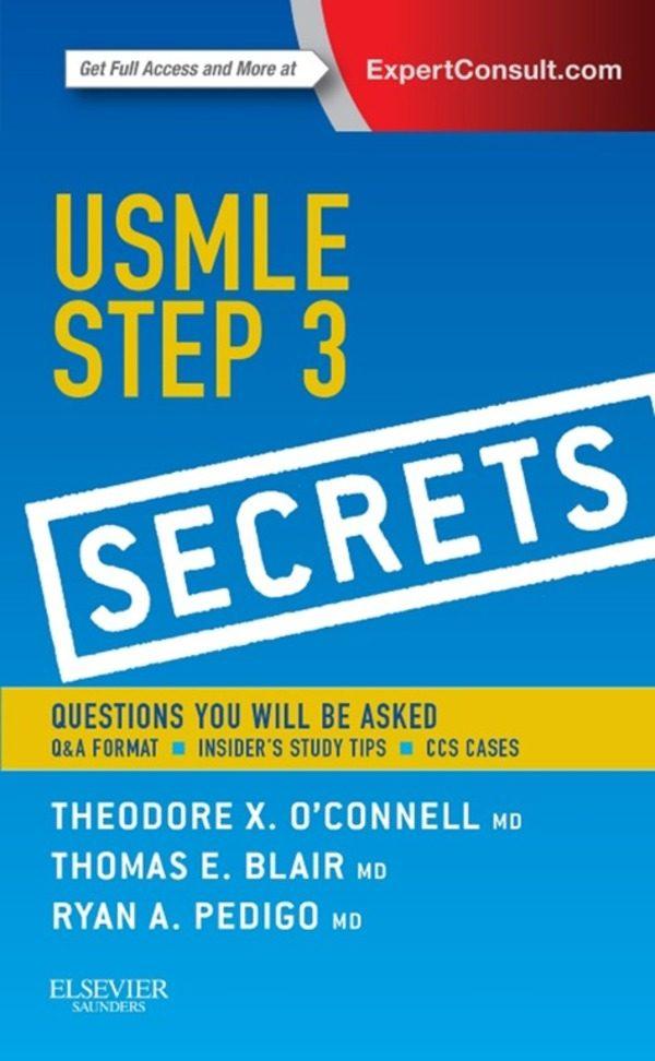 USMLE STEP 3 SECRETS E-BOOK EBOOK | THEODORE X. O\'CONNELL ...