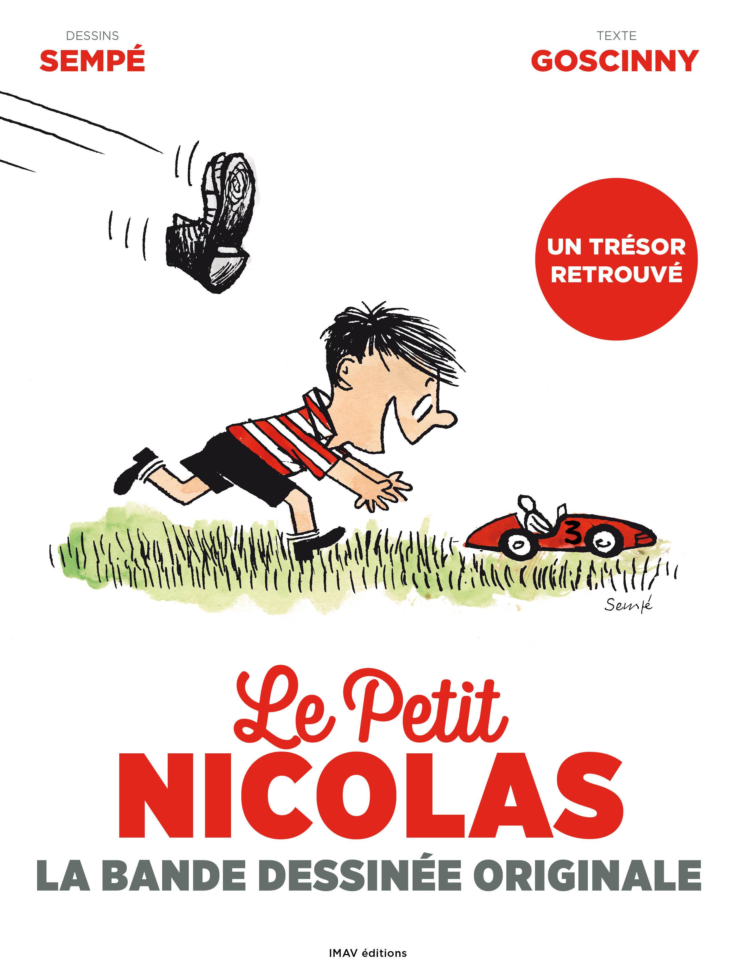 le petit nicolas : la bande dessinée originale-rene goscinny-jean-jacques sempe-9782365901369