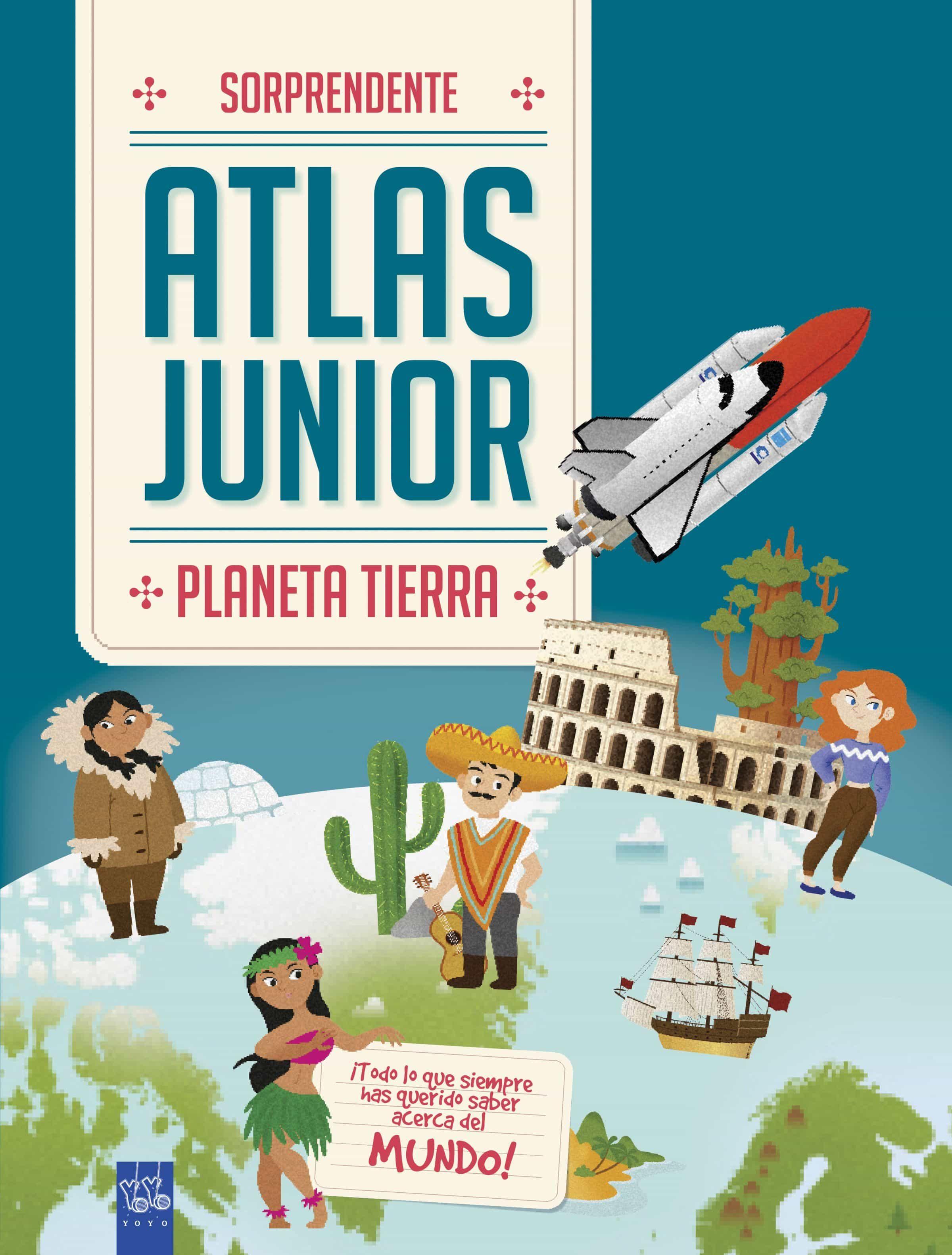 Atlas Junior. Planeta Tierra por Vv.aa.