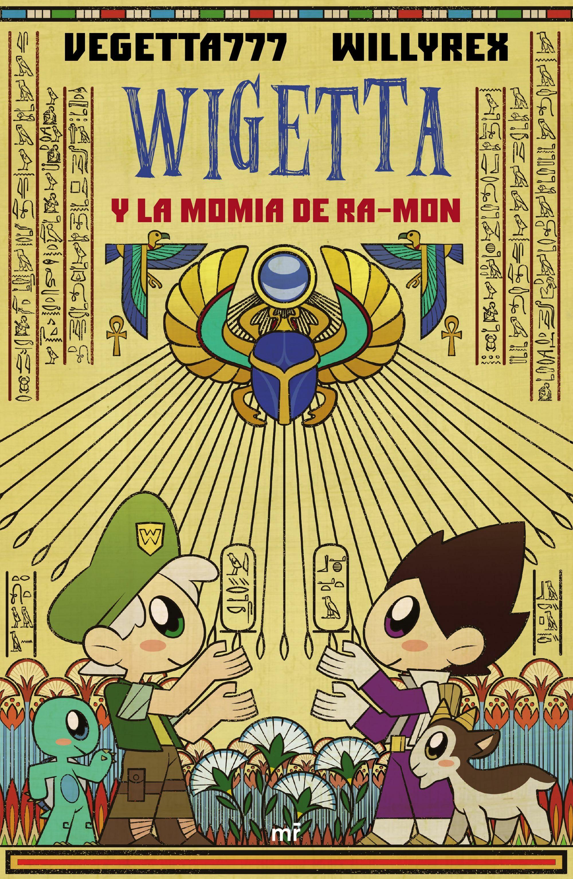 wigetta y la momia de ra-mon-9788427045569