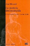 La Justicia Deconstruida por Ana Messuti