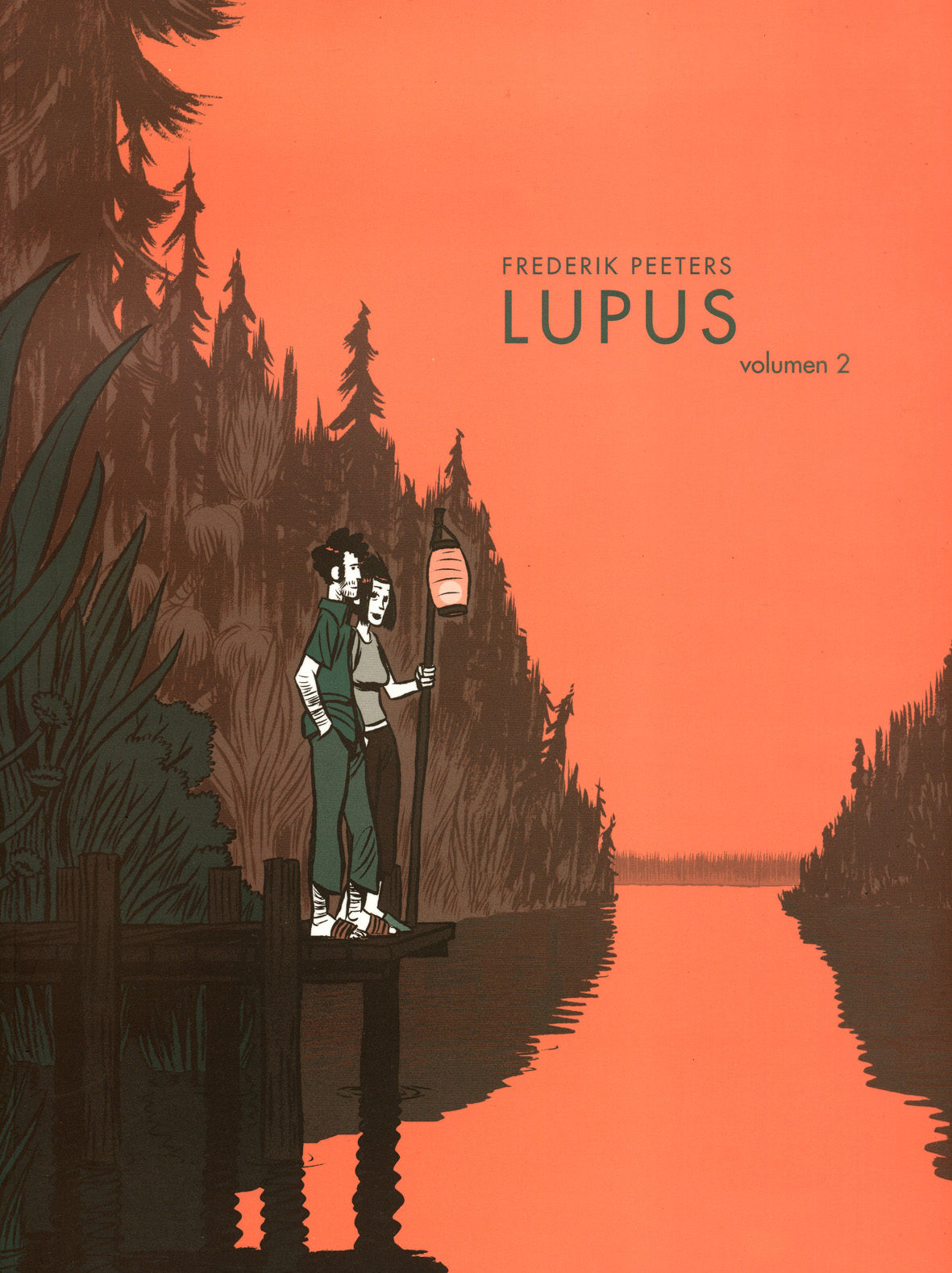 Lupus (vol. 2) por Frederik Peeters