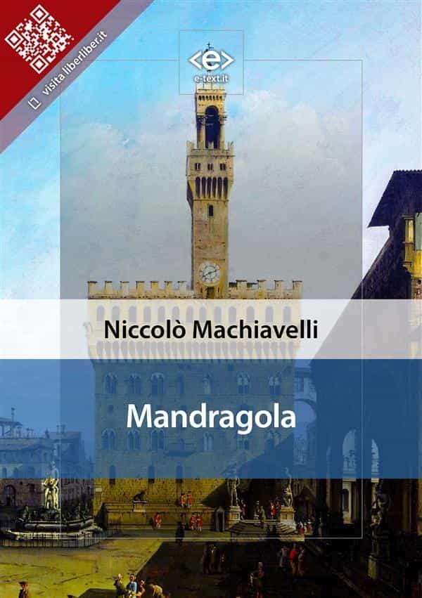 Pdf mandragola machiavelli