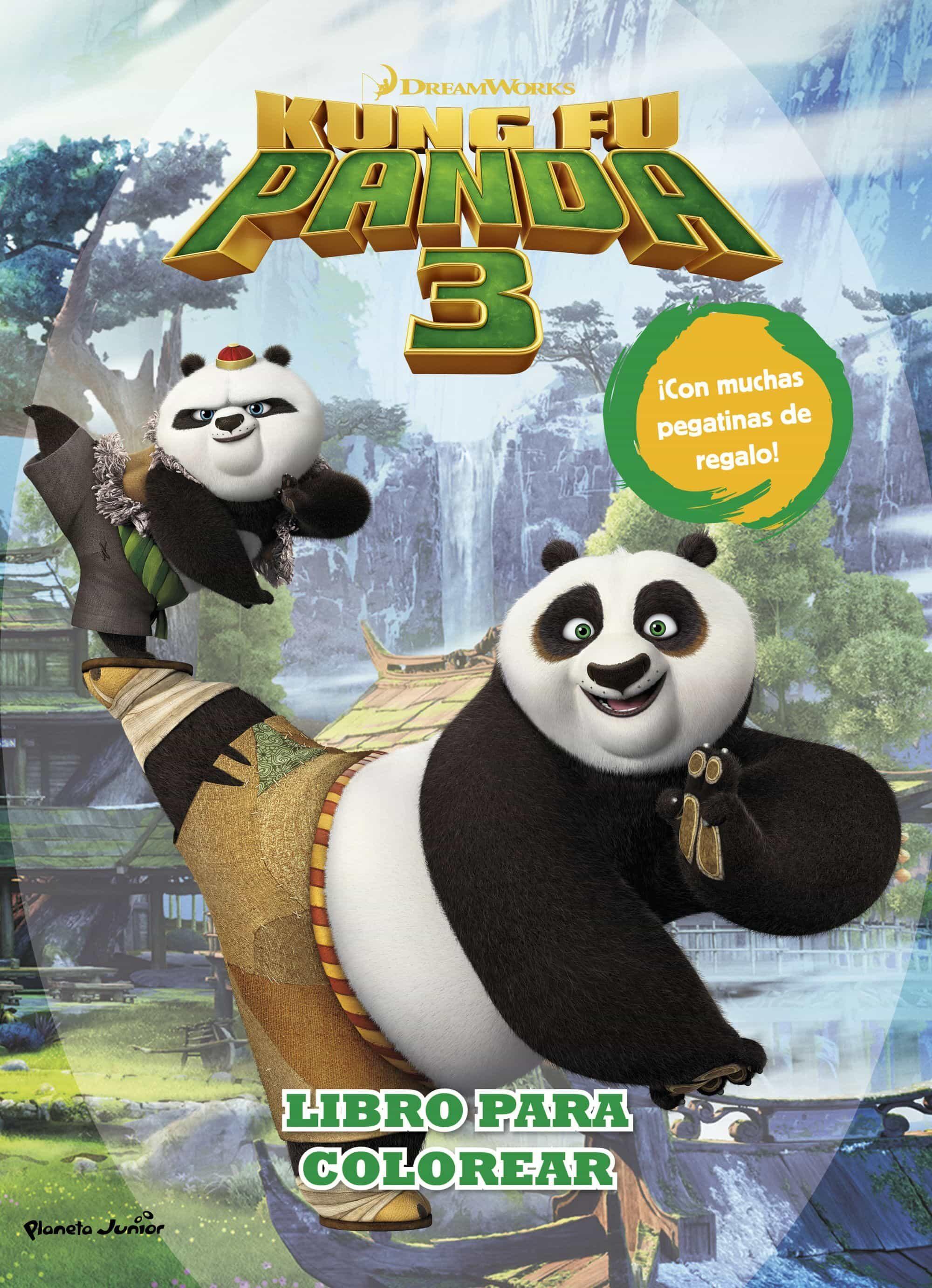 KUNG FU PANDA 3. LIBRO PARA COLOREAR | VV.AA. | Comprar libro ...