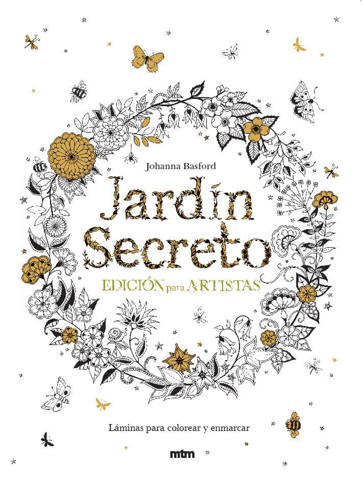 JARDIN SECRETO. EDICION PARA ARTISTAS | JOHANNA BASFORD | Comprar ...
