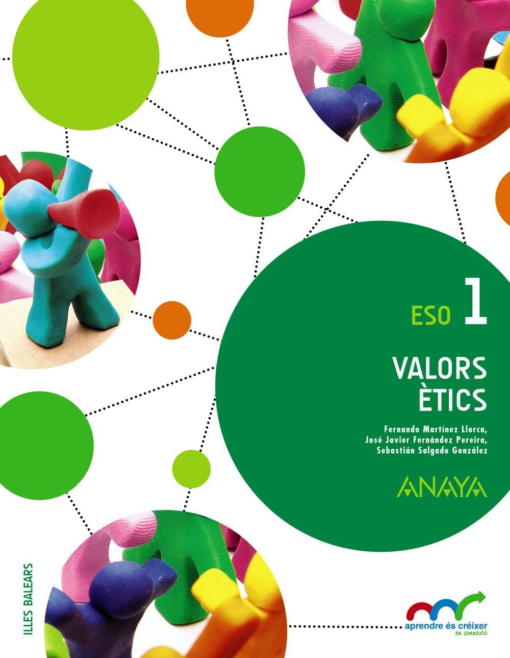 descargar VALORS ÈTICS 1º ESO ILLES BALEARS CATALA pdf, ebook