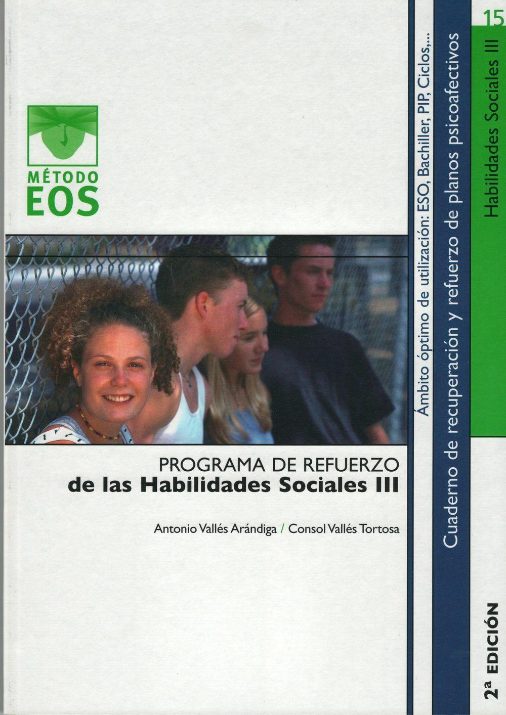 descargar PROGRAMA DE REFUERZO DE LAS HABILIDADES SOCIALES III pdf, ebook